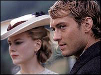 Nicole Kidman and Jude Law in Cold Mountain