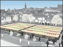Option two for Norwich Market