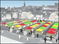 Option three for Norwich Market