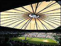 The Centre Court at Wimbledon could soon have a retractable roof