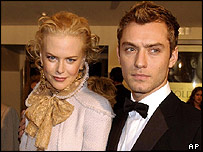 Jude Law and Nicole Kidman