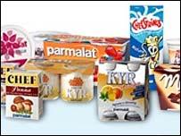 Parmalat products |