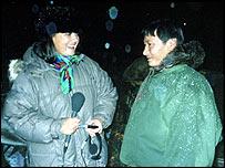 Bridget kendall interviews Gavriil, a Nenets herdsman