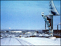 Ring road around Vorkuta