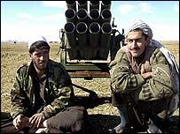 Afghan militiamen