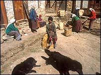 Village in Bhutan