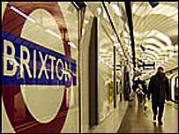 Brixton Tube station. Picture courtesy of London Underground