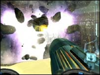 Screenshot of Metroid Prime