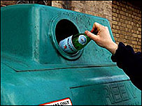 Bottle banks