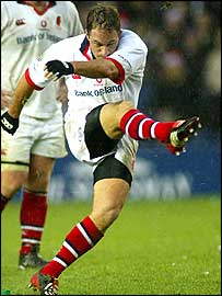 Ulster fly-half David Humphreys captained Ulster to European Cup success in 1999