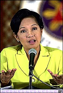 Philippines President Gloria Arroyo