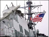 USS Decatur. Picture: The USS Decatur Website
