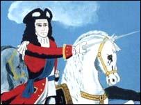 Battle of the Boyne mural
