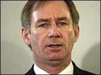 Defence Secretary Geoff Hoon