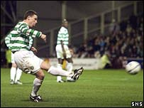 Celtic's Alan Thompson