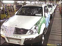 Ssangyong car plant