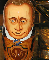 Матрешка Владимира Путина