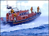 The Coastguard was involved in the sea search