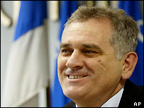 Tomislav Nikolic, deputy chairman of Serbian Radical Party
