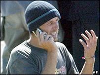 El brit�nico Mark Henderson, uno de los turistas liberados por el ELN