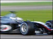 The new McLaren-Mercedes MP4-19