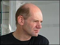 McLaren technical director Adrian Newey