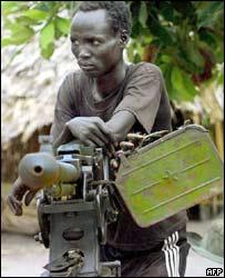SPLA fighter