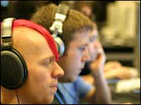 Gamers at the CPL Winter tournament, CPL/Netfire
