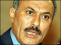Yemeni President Ali Abdallah Saleh