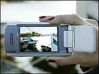 Sony Ericsson P900 smartphone