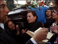 Entierro de sacerdote cat�lico Jos� Mar�a Ruiz