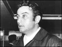 American comedian Lenny Bruce