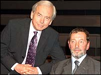 John Humphrys and David Blunkett