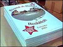 The original roundabout calendar, featuring the traffic islands of Redditch in Worcestershire