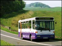 Hadrian's Wall bus