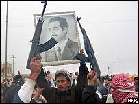 Pro-Saddam protest in Falujah