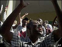 Manifestaciones en Haití.