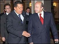 Игорь Иванов и президент Венесуэлы Уго Чавес