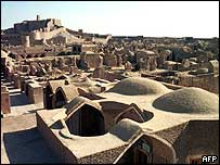 The ancient city of Bam before the quake