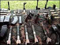 FARC weapons
