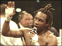 Nigel Benn announces his retirement in 1996
