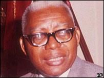 François 'Papa Doc' Duvalier.