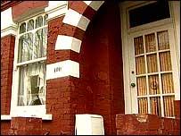 La residencia de George y Gertrude Bates