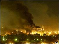 Bombardeos sobre Bagdad, 2003