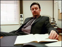 Fictional boss David Brent