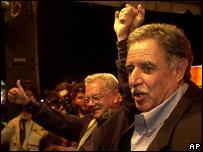Óscar Berger, presidente electo de Guatemala
