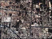 Satellite image of Bam