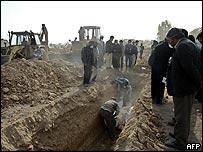 Bam burial site
