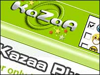 File-swapping program Kazaa