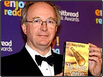 The Amber Spyglass author Philip Pullman